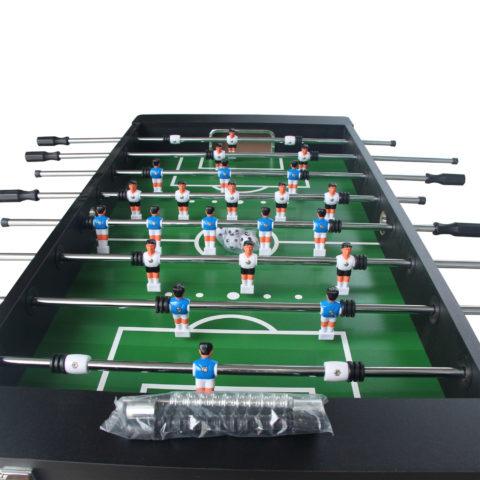 Настольный футбол является отличным развлечением дома или на даче.