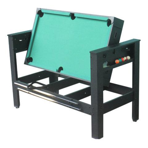 Многофункциональная модель стола - трансформер 2 в 1: бильярд и аэрохоккей.