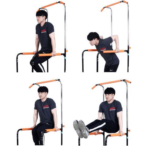 воздействуя на разные группы мышц тела на одном тренажере. Занятия на этом тренажере способствуют развитию мышц рук