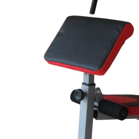 Легкая и удобная система регулировки сиденья и спинки позволяет удобно настроить тренажер для комфортного выполнения упражнения.