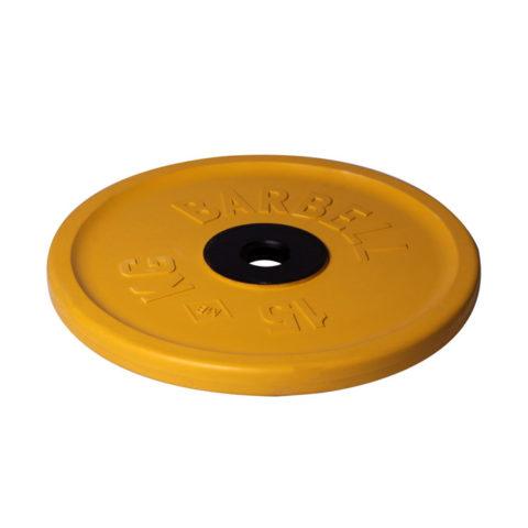 Диск олимпийский Barbell d 51 мм цветной 15 кг-арт 00000000456 Barbell