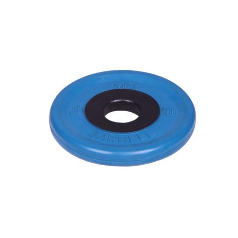 Диск олимпийский Barbell d 51 мм цветной 2