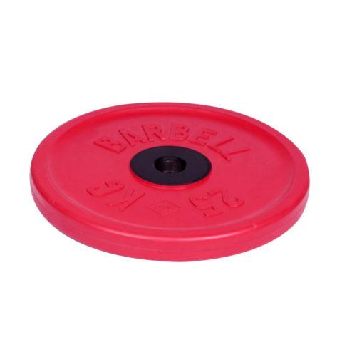 Диск олимпийский Barbell d 51 мм цветной 25 кг-арт 00000000459 Barbell