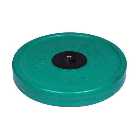 Диск олимпийский Barbell d 51 мм цветной 50 кг-арт 00000000461 Barbell