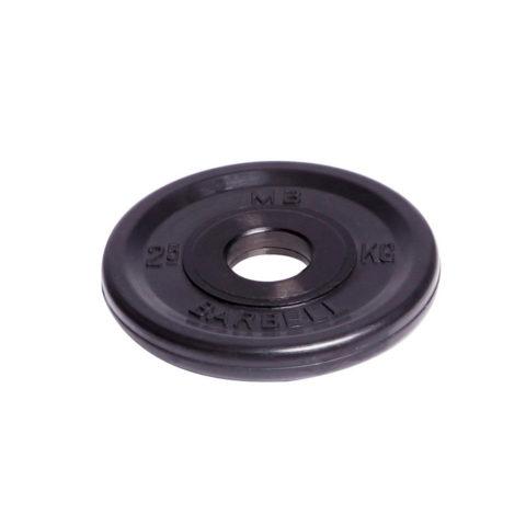 Диск олимпийский Barbell d 51 мм чёрный 2
