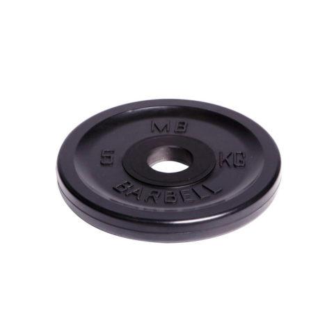 Диск олимпийский Barbell d 51 мм чёрный 5 кг-арт 00000000469 Barbell