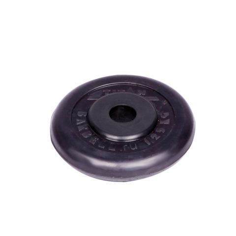 Диск обрезиненный Титан d 26 мм чёрный 1