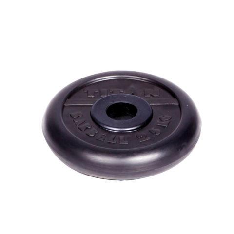 Диск обрезиненный Титан d 31 мм чёрный 2