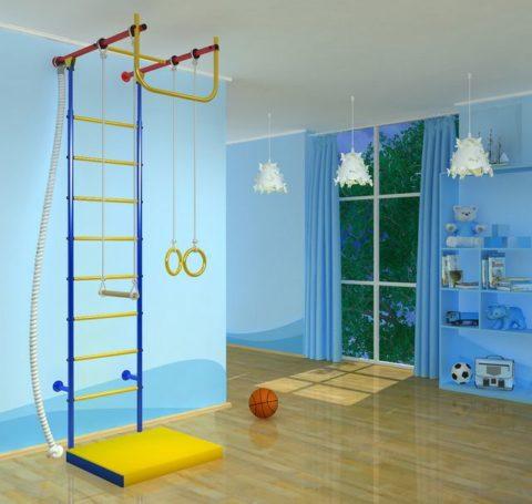 Детский спортивный комплекс Самсон-5-арт 00000000856 Самсон