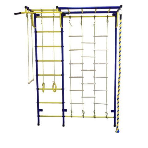 Спортивный комплекс Пионер С4Л сине/жёлтый-арт SG000000534 Пионер