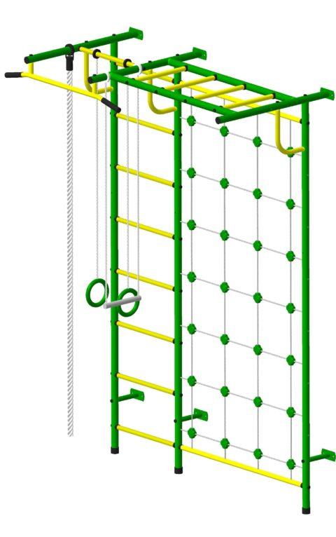 Спортивный комплекс Пионер С4СМ зелёно/жёлтый-арт SG000000789 Пионер