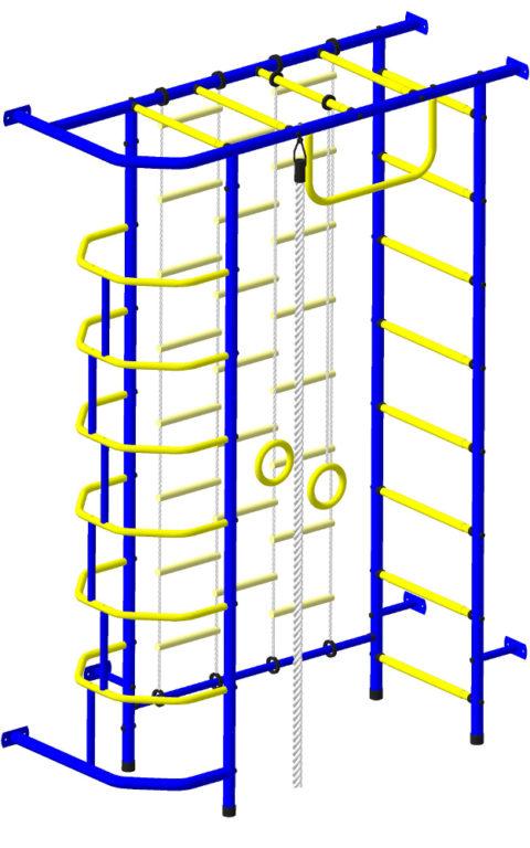 Спортивный комплекс Пионер 9ЛМ сине/жёлтый-арт SG000000814 Пионер
