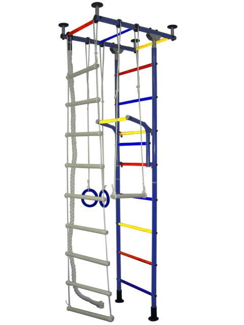 Детский спортивный комплекс Крепыш плюс Г ПВХ синий-арт SG000000925 Крепыш