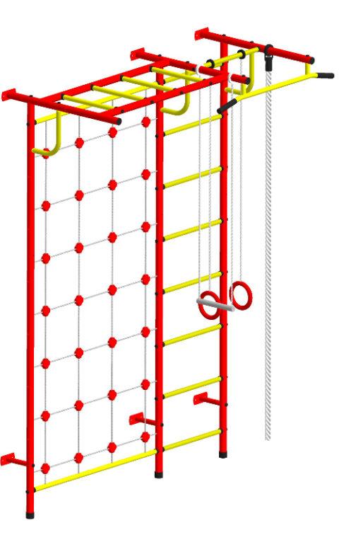 Спортивный комплекс Пионер С4СМ красно/жёлтый-арт SG000000928 Пионер