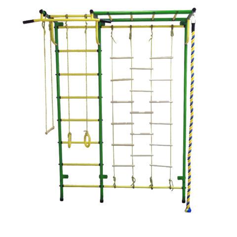 Спортивный комплекс Пионер С4Л зелёно/жёлтый-арт SG000001042 Пионер