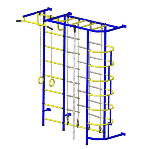 Спортивный комплекс Пионер С5ЛМ сине/жёлтый-арт SG000001370 Пионер