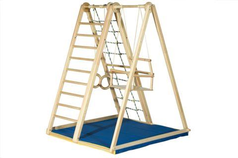 Детский спортивный комплекс Kidwood Берёзка оптима-арт SG000001554 Kidwood