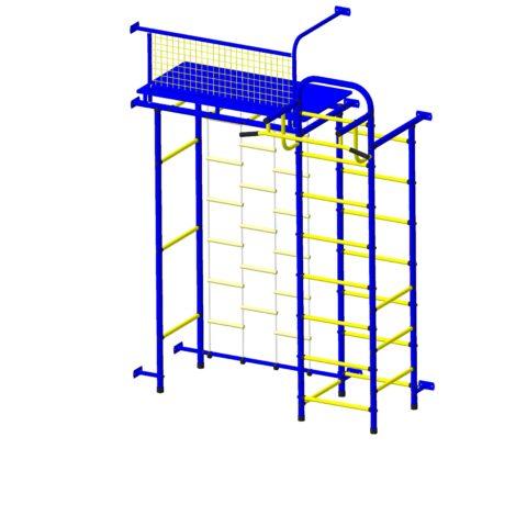 Спортивный комплекс Пионер 10Л сине/жёлтый-арт SG000001779 Пионер
