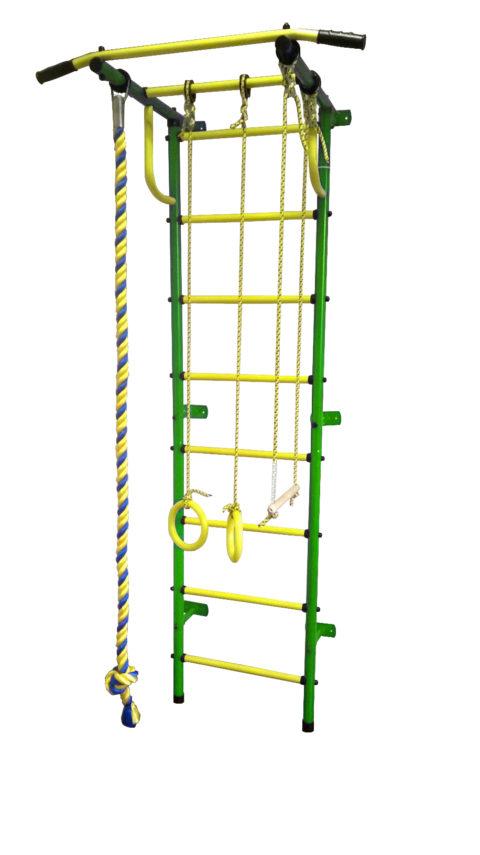 Детский спортивный комплекс Пионер С2Р зелёно/жёлтый-арт SG000001980 Пионер