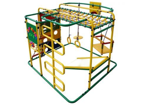 Спортивный комплекс Формула здоровья Мурзилка S зелёный/радуга-арт SG000002082 Формула здоровья