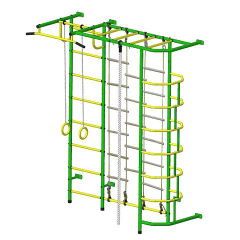 Детский спортивный комплекс Пионер С5Л зелёно/жёлтый-арт SG000002127 Пионер