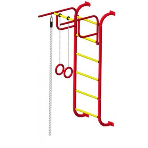 Спортивный комплекс Пионер 7 красно/жёлтый-арт SG000002151 Пионер