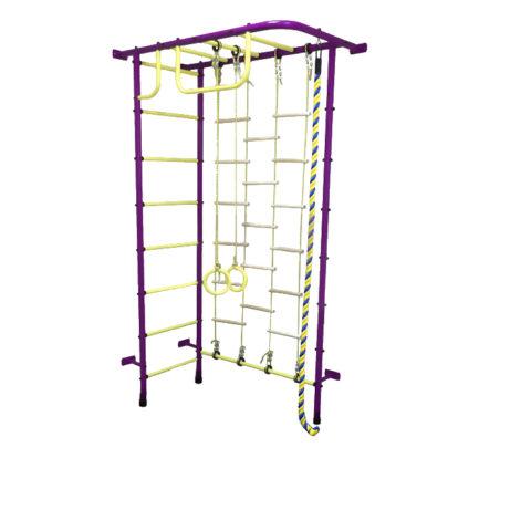 Спортивный комплекс Пионер 8Л пурпурно/жёлтый-арт SG000002158 Пионер