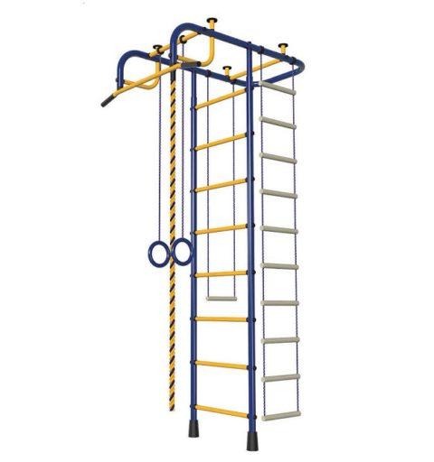 Спортивный комплекс Пионер сине/жёлтый-арт 00000001496 Пионер
