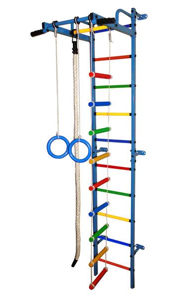 Спортивный комплекс Формула здоровья Карапуз-5А Плюс синий/радуга-арт SG000002060 Формула здоровья
