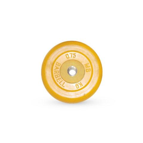 Диск обрезиненный Barbell d 26 мм цветной 0