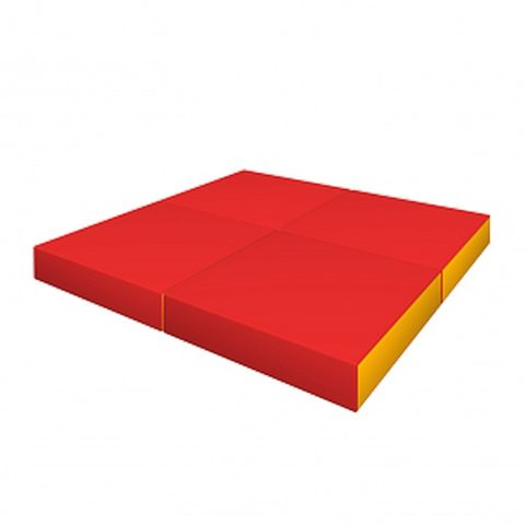 Комплект складной ДМФ-ЭЛК-14.96.01 красный/жёлтый-арт SG000001160 Romana