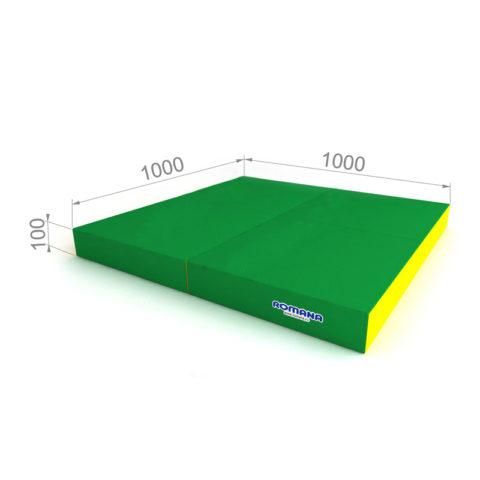 Комплект складной ДМФ-ЭЛК-14.96.01 зелёный/жёлтый-арт SG000001161 Romana