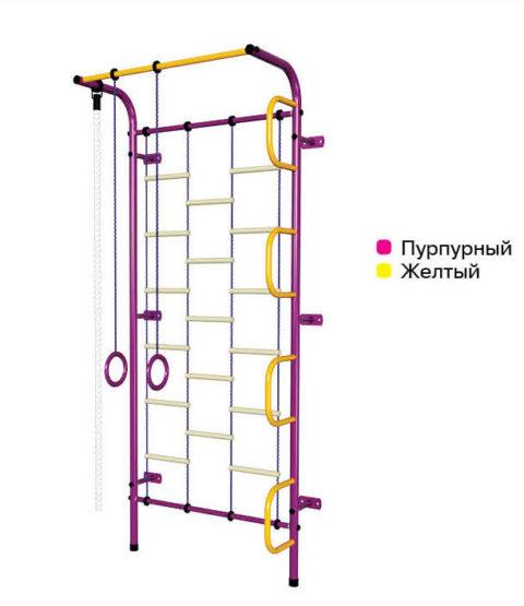 Спортивный комплекс Пионер С1Л пурпурно/жёлтый-арт SG000002103 Пионер