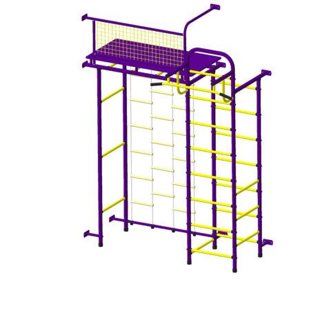 Спортивный комплекс Пионер 10ЛМ пурпурно/жёлтый-арт SG000002000 Пионер