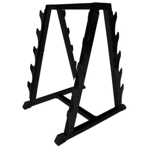 Стойка для хранения грифов Barbell МВ 1.17 (на 10 позиций) чёрный-арт SG000000583 Barbell