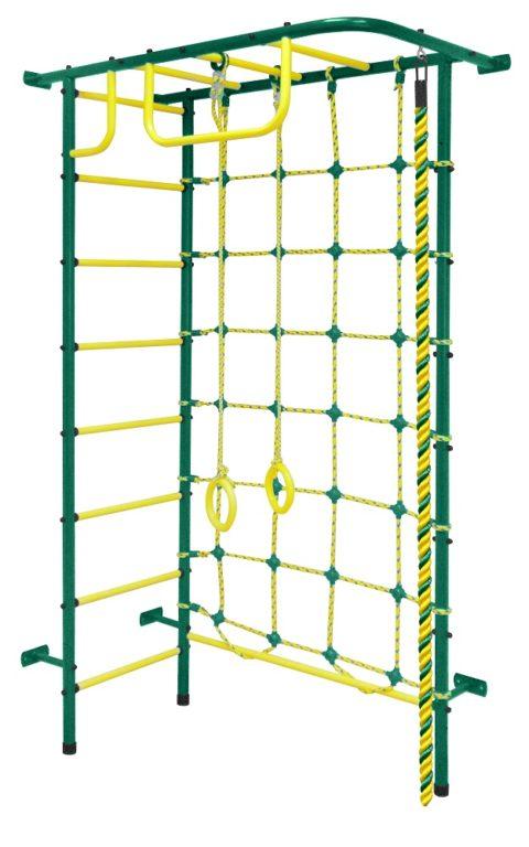 Спортивный комплекс Пионер 8 зелёно/жёлтый-арт SG000000929 Пионер