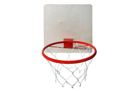 Кольцо баскетбольное с сеткой КМС d=295 мм-арт 00000000136 КМС