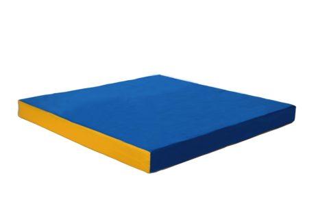 Мат № 2 КМС (100 х 100 х 10) сине/жёлтый-арт 00000000117 КМС