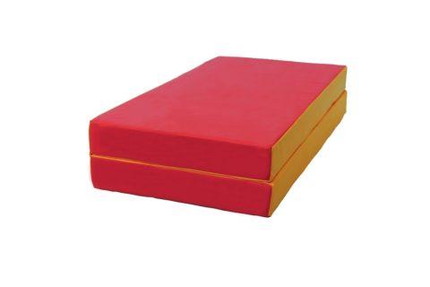 Мат № 3 КМС складной (100 х 100 х 10) красно/жёлтый-арт 00000001960 КМС