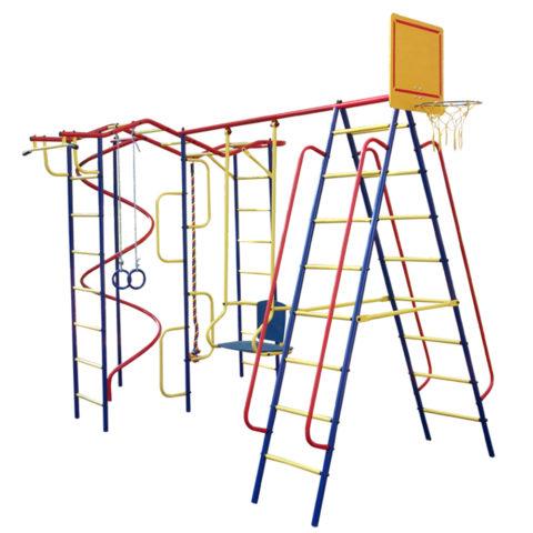 Спортивный комплекс Пионер Вираж дачный плюс со спиралью-арт SG000001522 Пионер
