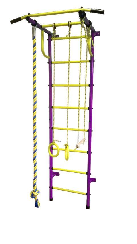 Спортивный комплекс Пионер С2Н пурпурно/жёлтый-арт SG000001458 Пионер