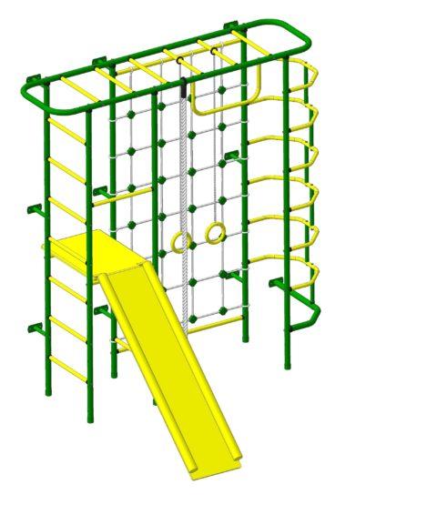 Спортивный комплекс Пионер С7С зелёно/жёлтый-арт SG000003138 Пионер
