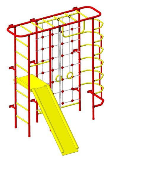 Детский спортивный комплекс Пионер С7СМ красно/жёлтый-арт SG000003144 Пионер