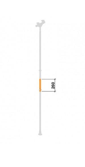 Вставка на стойку Романа ДСКМ ВО 92.82.00-21 оранжевый-арт SG000003264 Romana