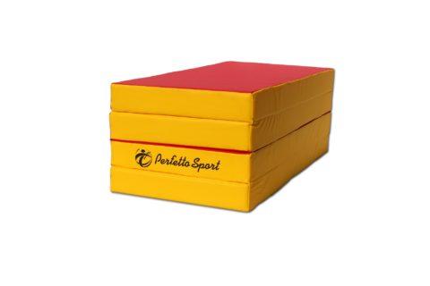 Мат Perfetto Sport № 5 (100 х 200 х 10) складной 3 сложения красно/жёлтый-арт SG000000404 Perfetto Sport