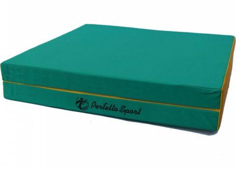 Мат Perfetto Sport № 8 (100 х 200 х 10) складной 1 сложение зелёно/жёлтый-арт SG000001829 Perfetto Sport