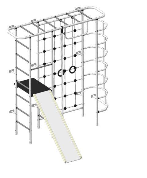 Спортивный комплекс Пионер С7СМ бело/серый-арт SG000003142 Пионер