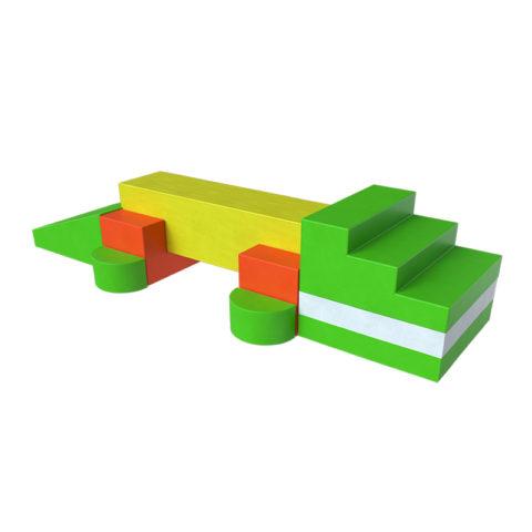 Мягкий модуль Крокодил Романа ДМФ-МК-11.07.05-арт SG000003407 Romana