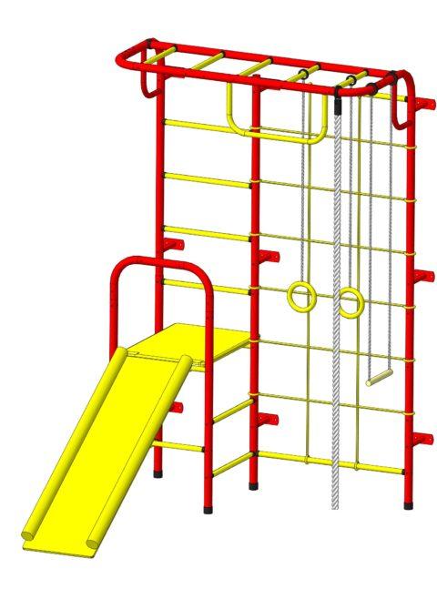 Спортивный комплекс Пионер С107 красно/жёлтый-арт SG000003489 Пионер
