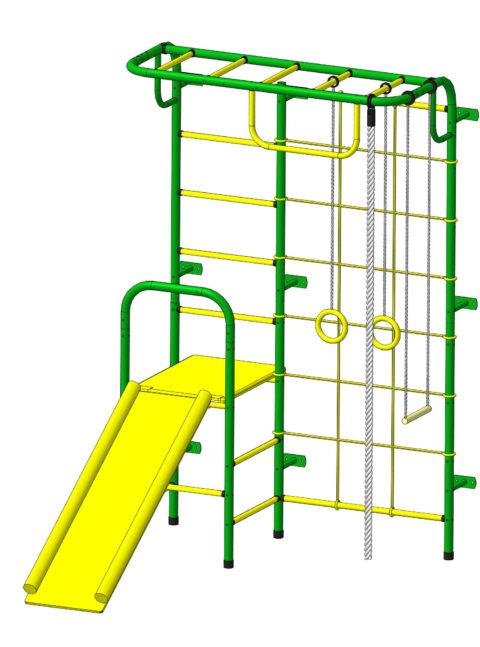 Спортивный комплекс Пионер С107 зелёно/жёлтый-арт SG000003485 Пионер